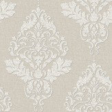 Albany Hadrian Damask Cream Wallpaper