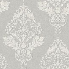 Albany Hadrian Damask Soft Grey Wallpaper