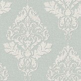 Albany Hadrian Damask Duck Egg Wallpaper - Product code: 35508