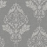 Albany Hadrian Damask Dark Grey Wallpaper - Product code: 35509