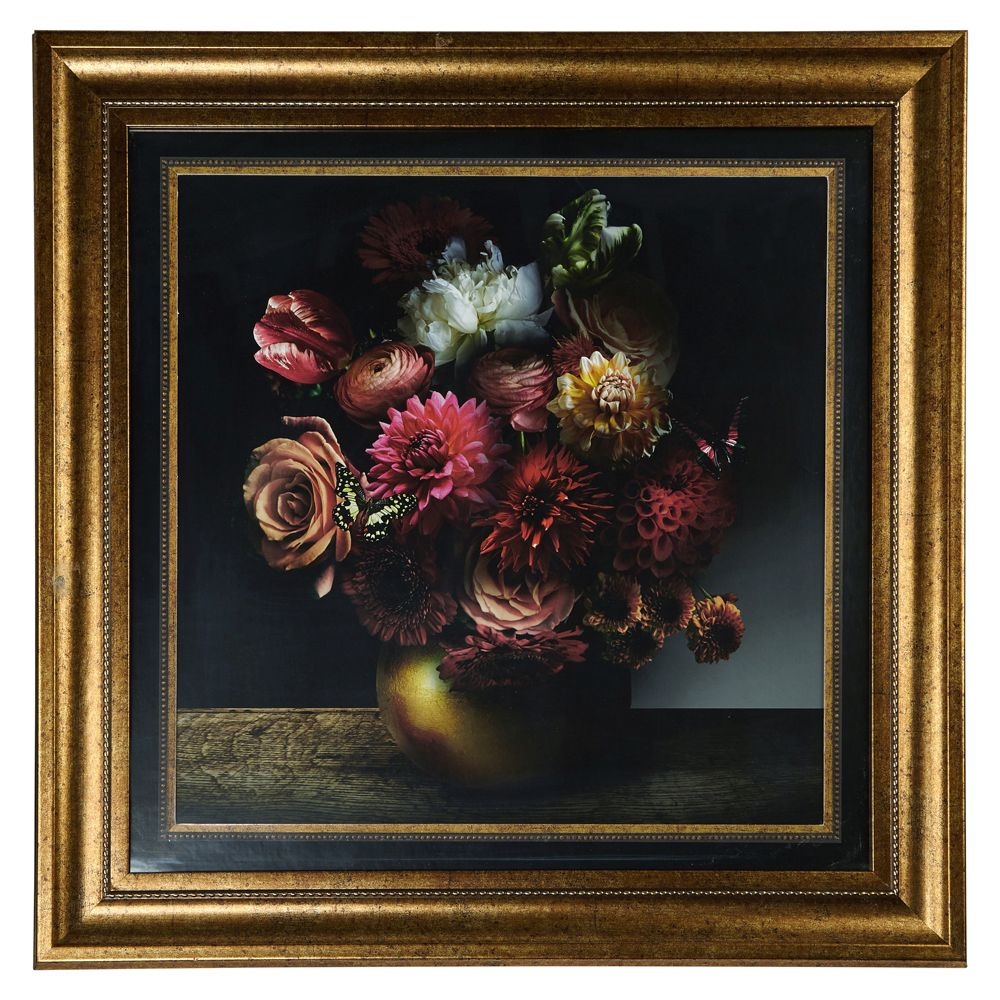 Arthouse Bouquet Framed Print Multi-coloured Art - Product code: 004755