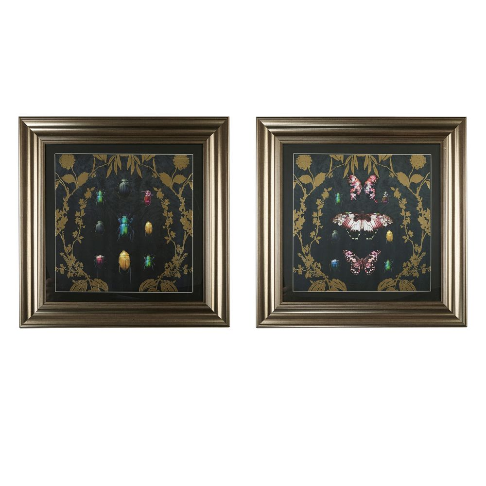 Arthouse Butterfly Framed Print Multi-coloured Art - Product code: 004757