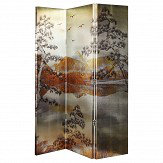 Arthouse Kyasha Gold Screen Room Divider