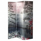 Arthouse Kyasha Blush Screen Room Divider
