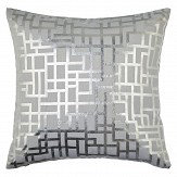Arthouse Satoni Silver Cushion