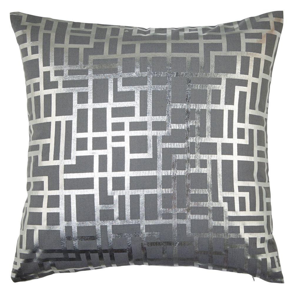 Satoni Silver Cushion - by Arthouse
