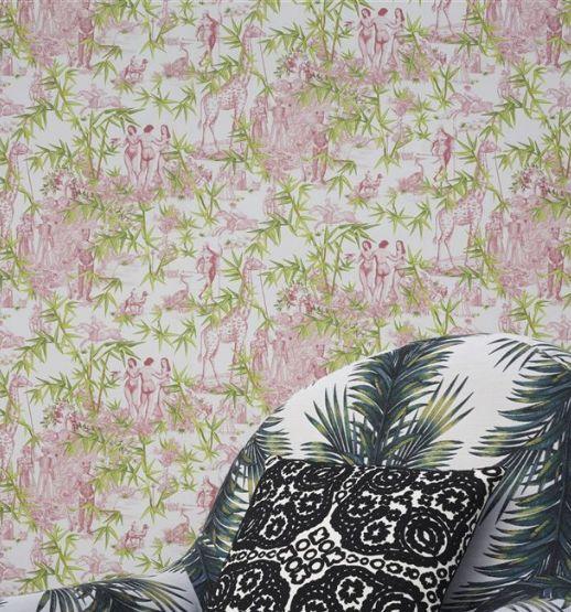 Exotisme Wallpaper - Tomette - by Christian Lacroix
