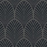 Albany Gatsby Charcoal Wallpaper