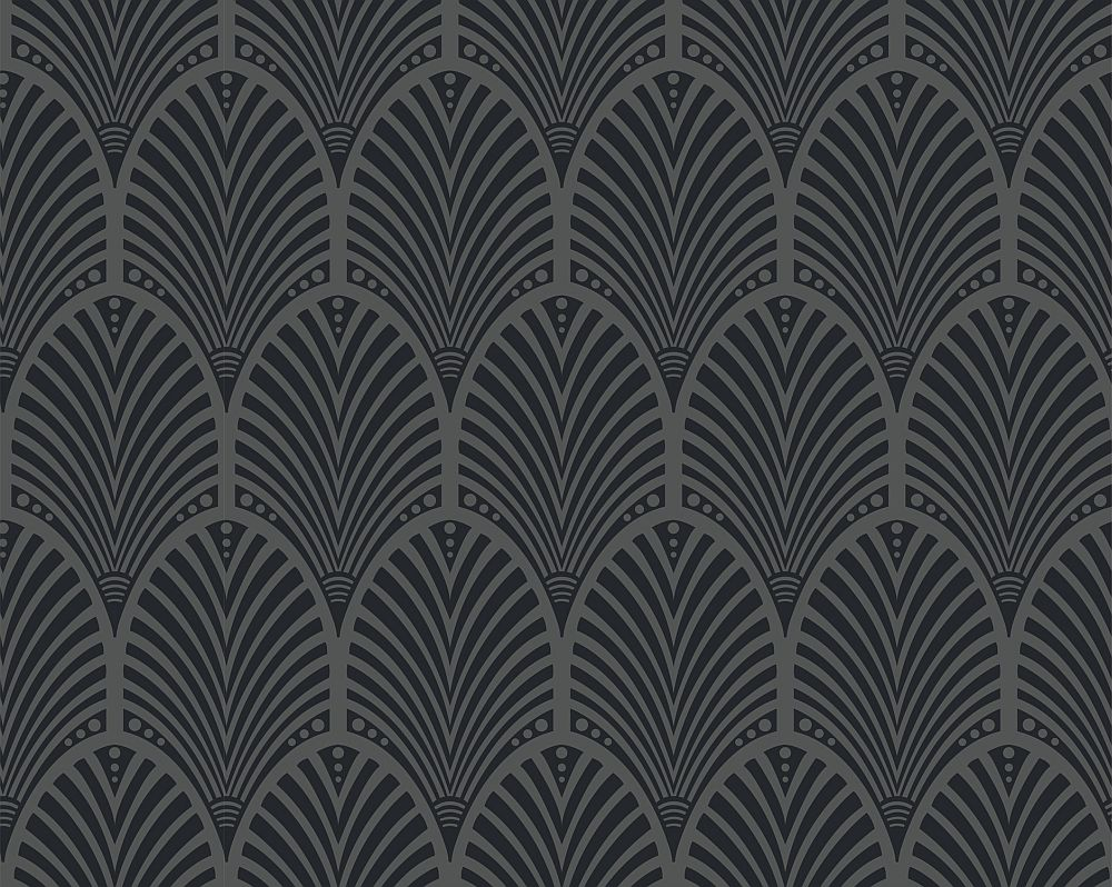Albany Gatsby Charcoal Wallpaper - Product code: 65250