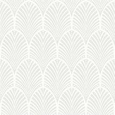 Albany Gatsby White Wallpaper