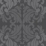 Albany Zena Charcoal Wallpaper - Product code: 65271
