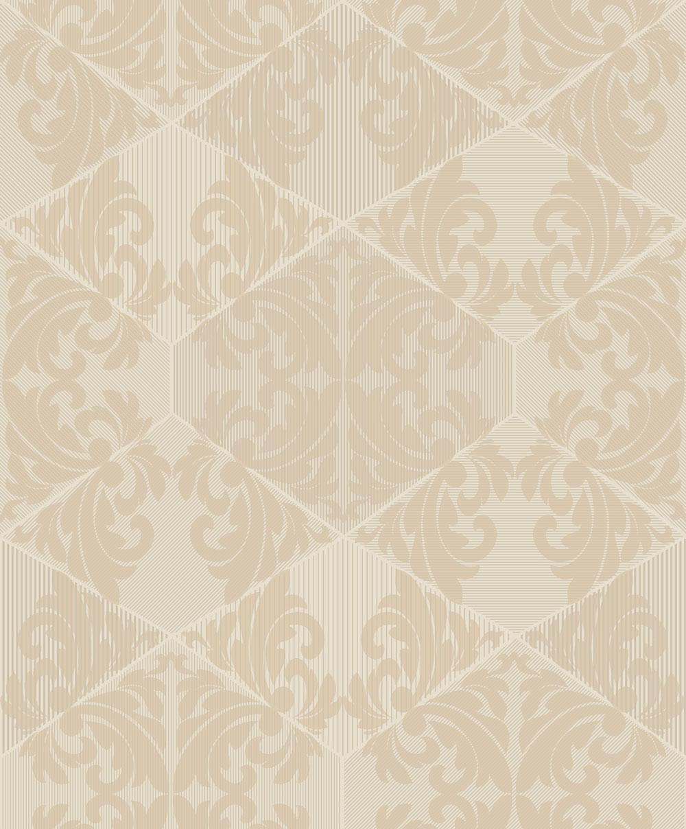 Albany Zena Cream Wallpaper - Product code: 65272