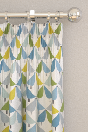 Scion Lintu Gecko / Pacific / Glacier Curtains - Product code: 120584