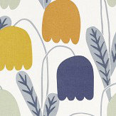 Scion Fritilla Dandelion / Ginger / Pebble Fabric - Product code: 132147