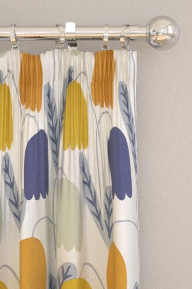 Scion Fritilla Dandelion / Ginger / Pebble Curtains - Product code: 132147
