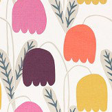 Scion Fritilla Damson / Flamingo / Lemonade Fabric - Product code: 132150