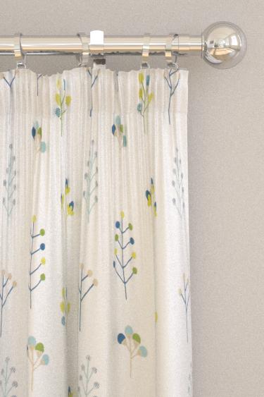 Scion Mukula Gecko / Citrus / Pacific Curtains - Product code: 132155