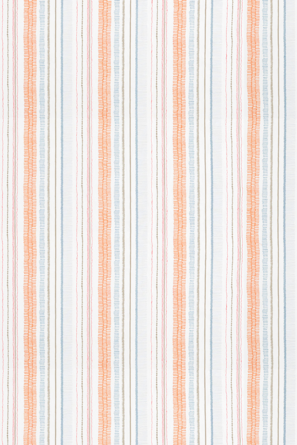 Scion Noki Satsuma / Sky / Pebble Fabric - Product code: 132153