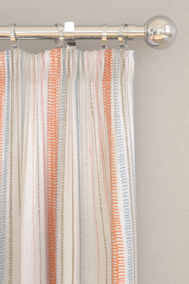 Scion Noki Satsuma / Sky / Pebble Curtains - Product code: 132153