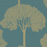 Albany Ambleside Teal Wallpaper