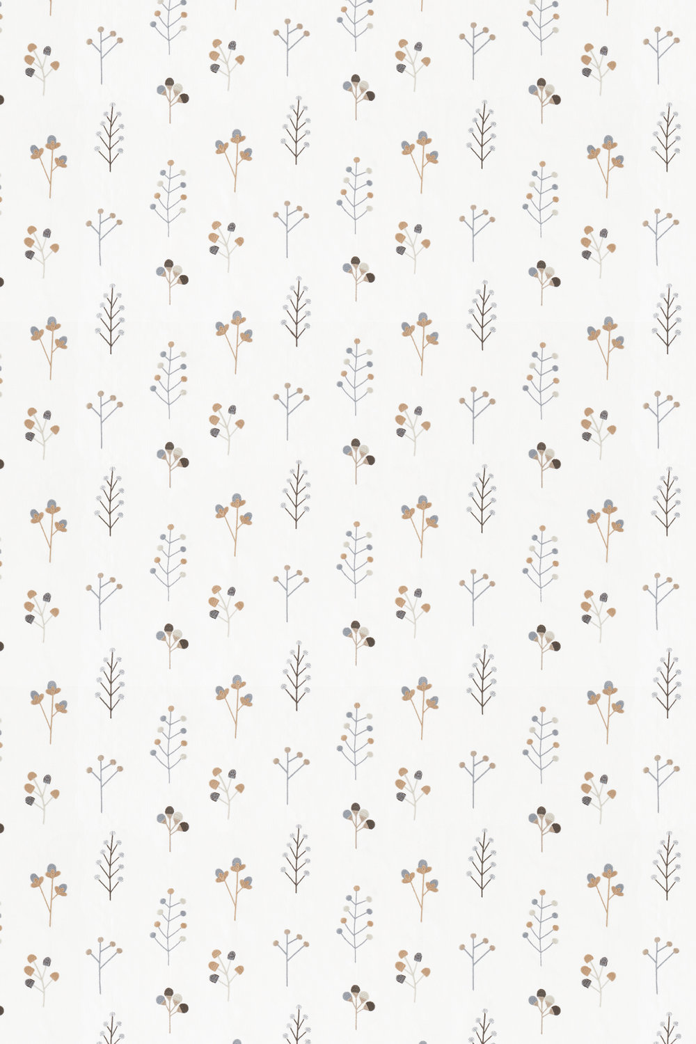 Scion Mukula Slate / Biscuit / Charcoal Fabric - Product code: 132156