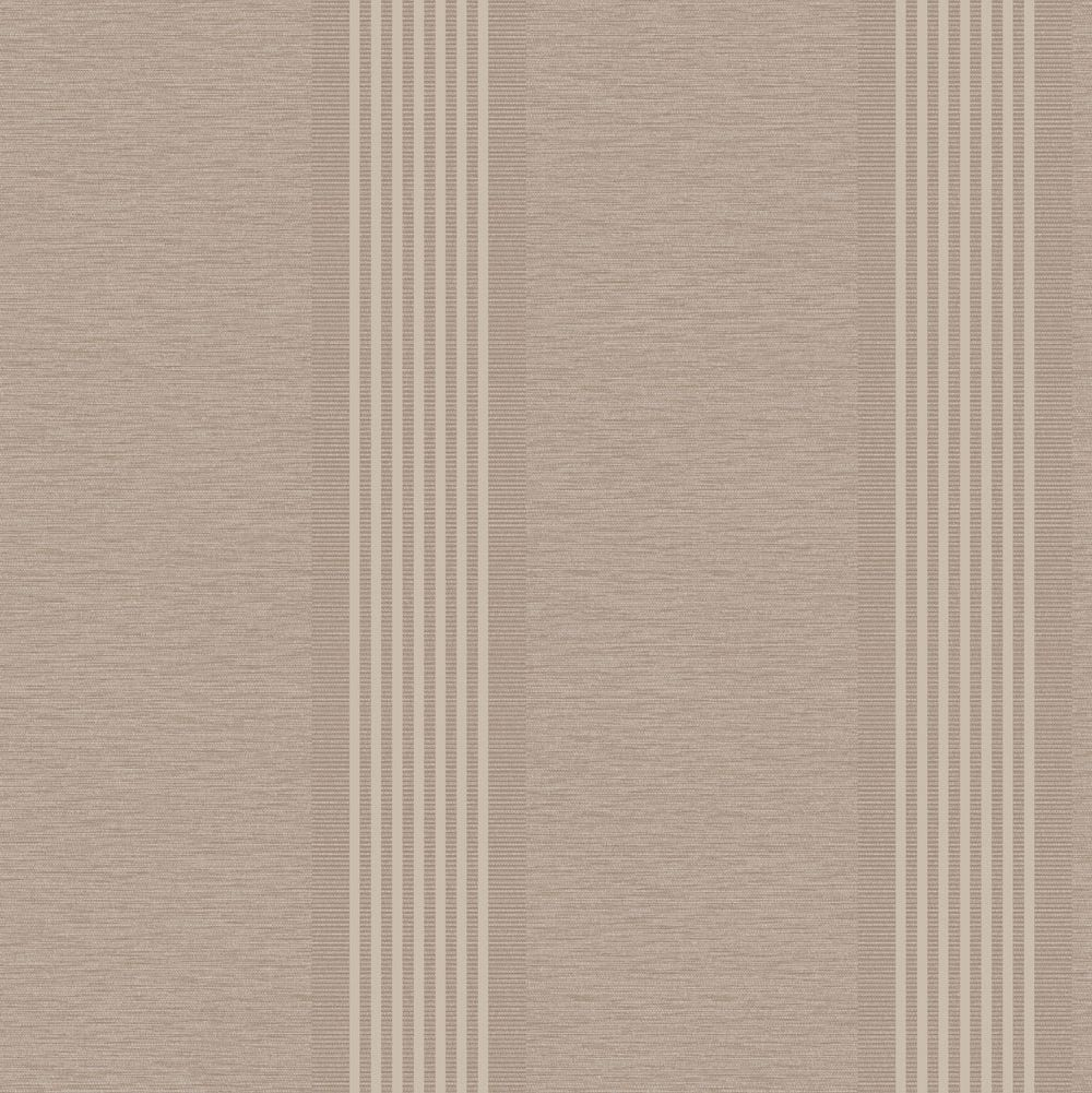Albany Ambleside Stripe Taupe Wallpaper main image