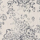 Architects Paper Foil Floral Opal White Wallpaper