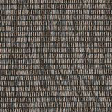 Albany Shimmer Thread Black Wallpaper