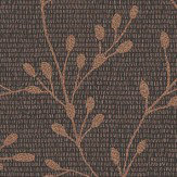 Albany Shimmer Trail Black Wallpaper