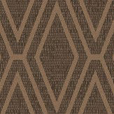 Albany Shimmer Diamond Copper Wallpaper - Product code: 65380