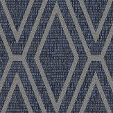 Albany Shimmer Diamond Blue Wallpaper