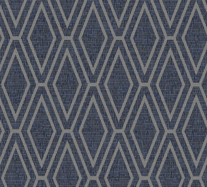 Albany Shimmer Diamond Blue Wallpaper - Product code: 65381