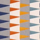 Harlequin Azul Rust / Navy / Nordic Fabric