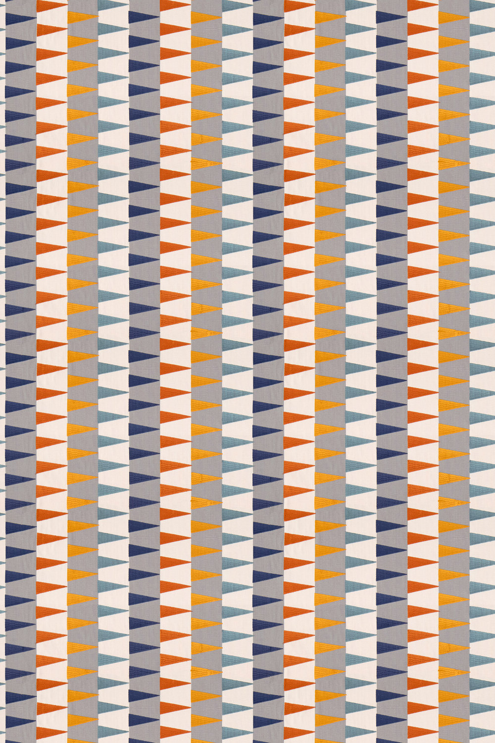 Harlequin Azul Rust / Navy / Nordic Fabric - Product code: 132013