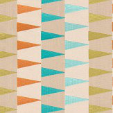 Harlequin Azul Emerald / Tangerine / Lime Fabric - Product code: 132015