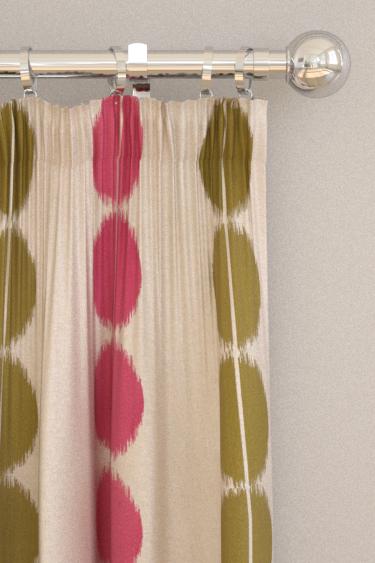 Harlequin Lomita Raspberry / Caper Curtains - Product code: 132025