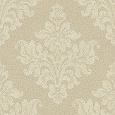The Paper Partnership Petworth Gold Wallpaper