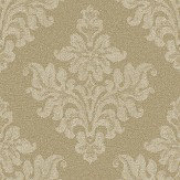 The Paper Partnership Petworth Dark Gold Wallpaper