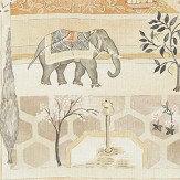 Sanderson Sultans Garden Sepia / Amber Fabric - Product code: 226312