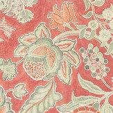 Sanderson Shalimar Russet / Flint Fabric