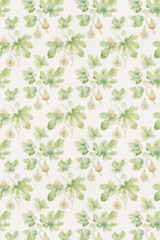 Sanderson Fig Harvest Garden Green Fabric main image