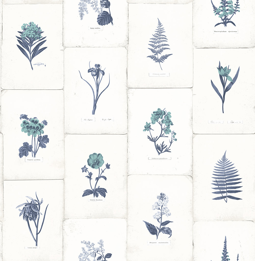 The Paper Partnership Maund Blue Wallpaper - Product code: WP0090901