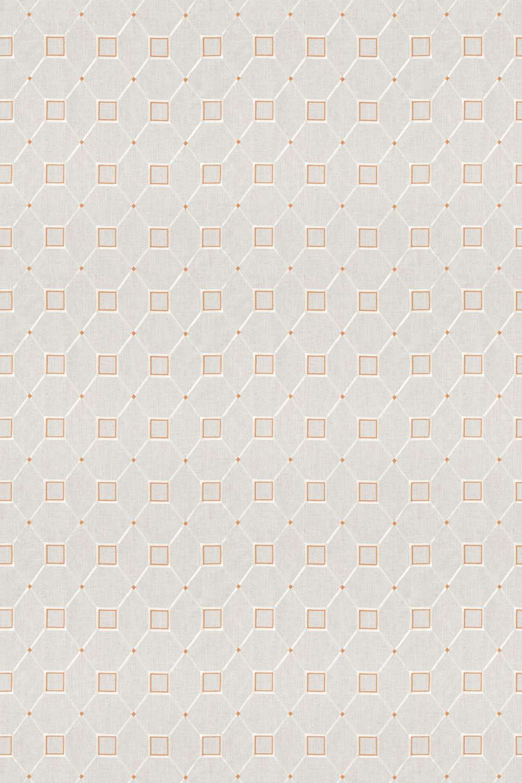 Sanderson Baroque Trellis Russet / Linen Fabric main image