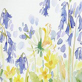 bluebellgray Bluebell Woods set of 3 x 3m panels Blue / Yellow Mural