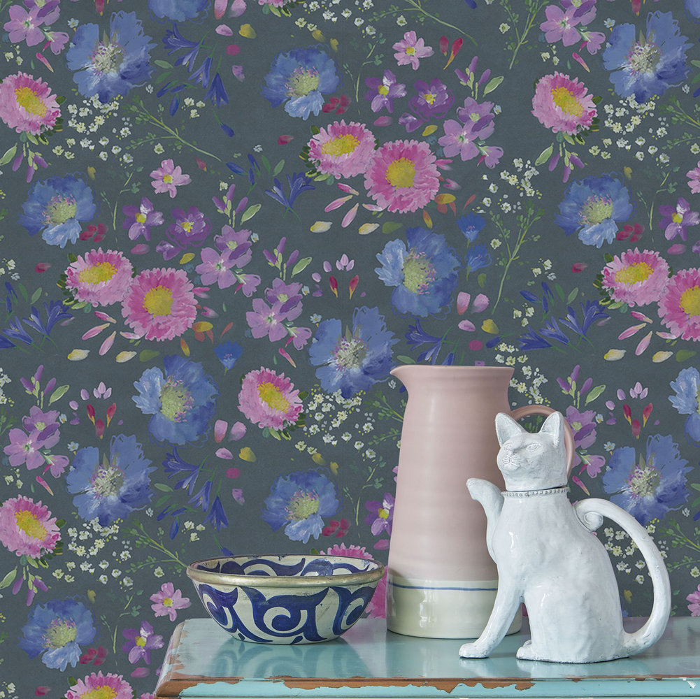 bluebellgray Kippen Smoke Wallpaper - Product code: WM004