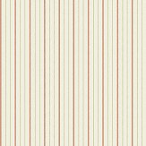 Elizabeth Ockford Maund Stripe Burnt Orange Wallpaper - Product code: WP0091002