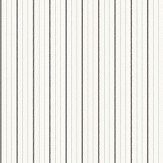 Elizabeth Ockford Maund Stripe Charcoal Wallpaper - Product code: WP0091004