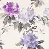 Sanderson Rhodera Grape Fabric - Product code: 226275