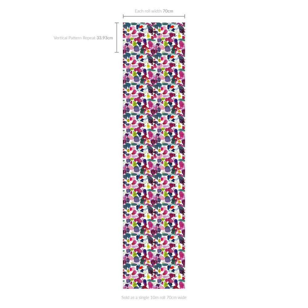 bluebellgray Wee Abstract Multi-coloured Wallpaper - Product code: WM009
