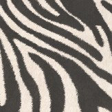 Roberto Cavalli Zebra Print Black and White Wallpaper